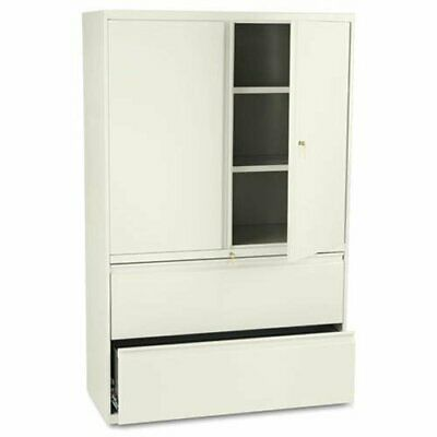 """Hon 800 Series Wide Lateral File With Storage Cabinet - 42"""""""
