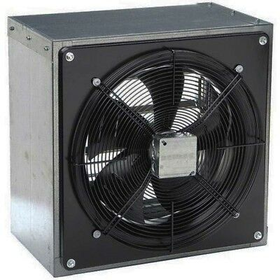 12 Exhaust Fan - Axial - 1208 Cfm - 120 Volt - 1 Phase - 18 Hp - Direct Drive