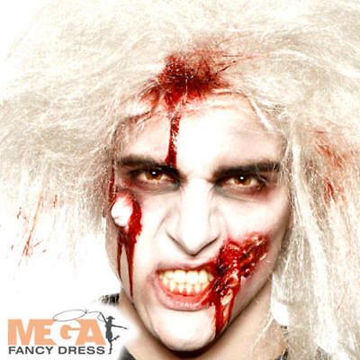 Zombie Make Up Kit Fancy Dress Halloween Undead Mens Ladies Adults Costume Set  - Men Make Up Halloween