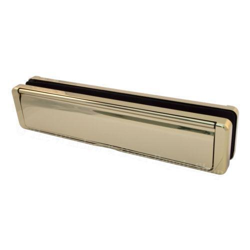 Letter box for upvc door ebay for Upvc french doors with letterbox
