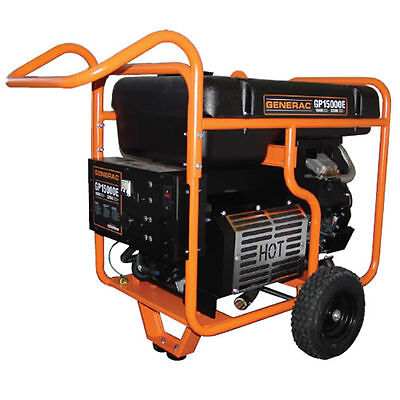 Generac Gp15000e - 15000 Watt Electric Start Portable Generator