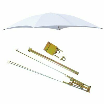 Rops Tractor Umbrella With Frame Mounting Bracket 54 - White