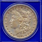 1881 US Silver Dollar