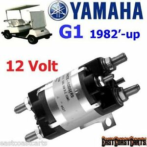 yamaha g1 gas golf cart 12 volt solenoid j17 81950