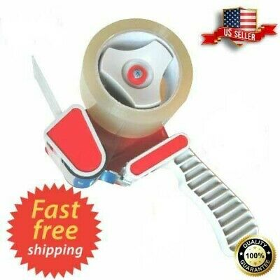 Heavy Duty Packing Tape Gun Dispenser 2 Tape Dispenser Box Sealing Us Seller