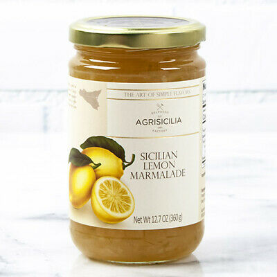 - Sicilian Jam by Agrisicilia - Lemon Marmalade (12.7 ounce)