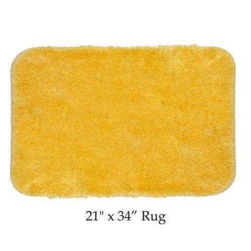 Yellow Bath Rug Ebay