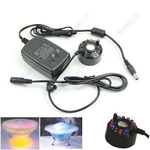 Ultrasonic-12-LED-Mist-Fogger-Maker-Water-Fountain-Pond