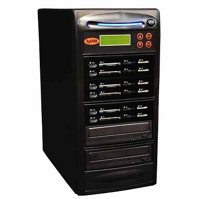 Systor 1:5 USB/SD/CF/MS All in One Flash Memory Card Duplicator - CD DVD Copier