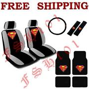 Superman Seat Covers