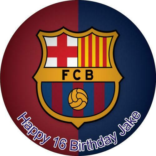 Barcelona Cake Topper Ebay