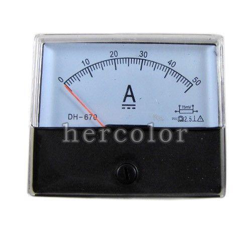 Panel Amperage Meters : Panel amp meter ebay