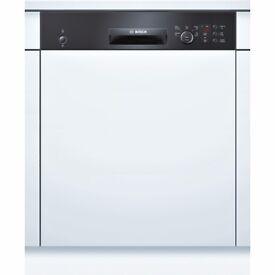 New BOSCH DISHWASHER SMI50C06GB Full-size Semi-integrated Was: £429.99