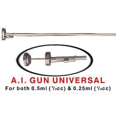 2 X Cattle Ai Gun Universal Artificial Insemination Gun 12cc 14cc Size Straw