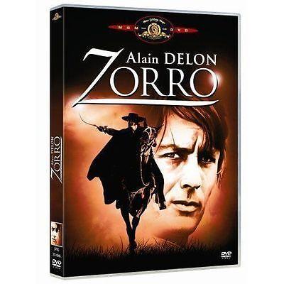 "ALAIN DELON "" ZORRO ""  "" DVD NEUF CELLO - SOUS TITRES NEERLANDAIS"