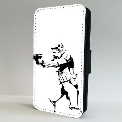 Banksy Star Wars Stormtrooper FLIP PHONE CASE COVER for IPHONE SAMSUNG