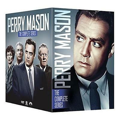Perry Mason The Complete Series Season 1  9  Dvd Set  1 2 3 4 5 6 7 8 9 New