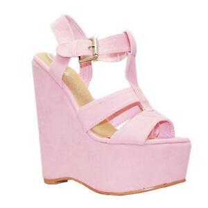d867c96dcc3 Pink Platform Wedge Shoes
