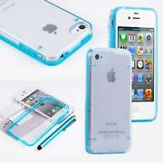 iPhone 4 Blue Rubber Case
