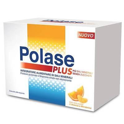 Polase Plus Kalium Kalzium-Glukonat Magnesium Citrat ohne Zucker 24 Umschläge + - Kalium Plus Magnesium