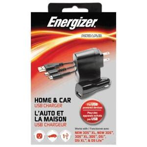 PDP PL9920 Energizer Universal Home & Car Charger for Nintendo DS (New Other)