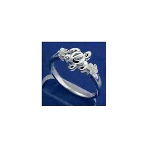 STERLING-SILVER-925-HAWAIIAN-HONU-TURTLE-PLUMERIA-FLOWER-RING-SIZE-3-12