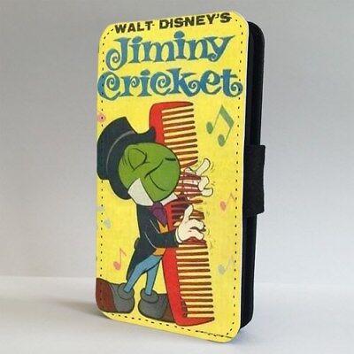 Pinocchio Disney Jiminy Cricket FLIP PHONE CASE COVER for IPHONE SAMSUNG