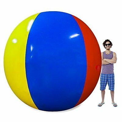 Giant Beach Ball (Beach Behemoth Giant Inflatable 12-Foot Pole-to-Pole Beach)