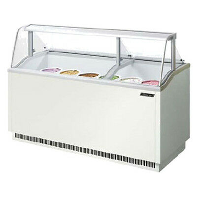 Turbo Air Tidc-70w Ice Cream Dipping Cabinet White