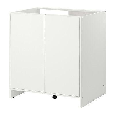IKEA FYNDIG Unterschrank 80x86x60cm Küchenschrank Spülschrank Spülenschrank WEIß