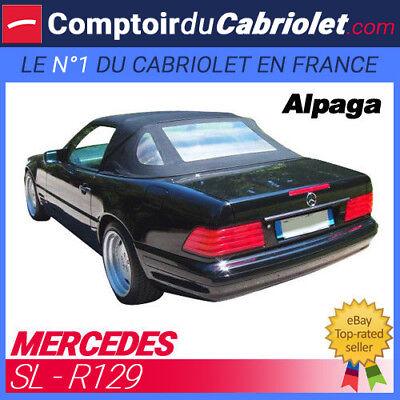 Capote Mercedes R129 cabriolet (1990 - 2002) - Toile Alpaga Twillfast® d'occasion  Expédié en Belgium