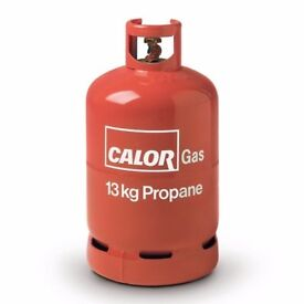 CALOR GAS BOTTLE 13KG PROPANE EMPTY £10 COLLECT KETTERING.