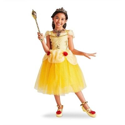 NWT Disney Store Belle Costume for Kids Size 5/6,7/8