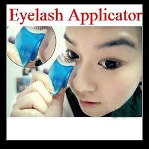 how to put fake eyelashes on yourself