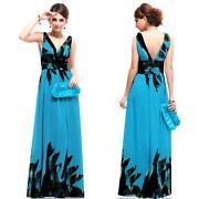 Womens Long Chiffon Dress