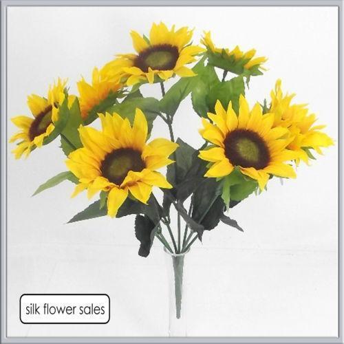 Artificial sunflowers ebay mightylinksfo