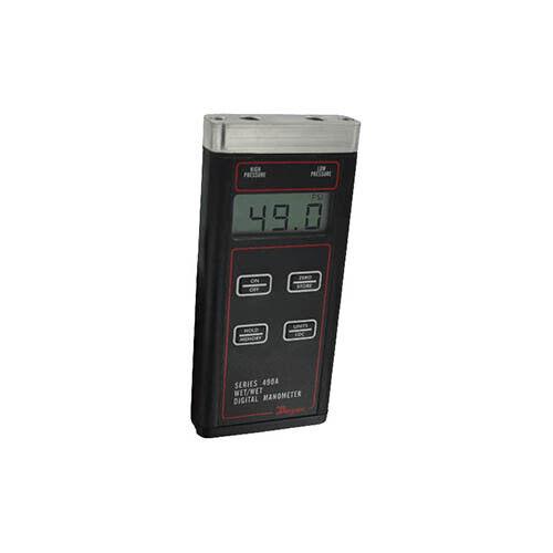 Dwyer 490A-2 Wet/Wet Handheld Digital Manometer, 0 to 30 psi