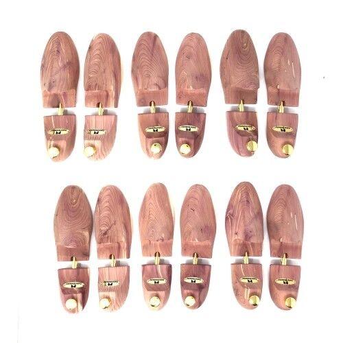 Cedar Elements Little Wholesale Program - Cedar Shoe Tree - 6 Pairs (M)