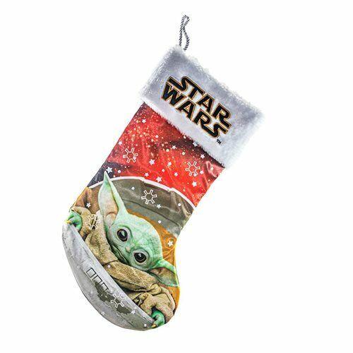 Star Wars Mandalorian The Child Baby Yoda Grogu Christmas Stocking **IN STOCK