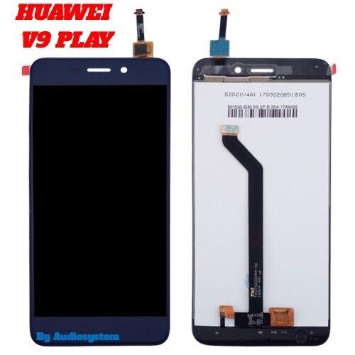 DISPLAY+ TOUCH SCREEN PER HUAWEI HONOR V9 PLAY JMM-AL10 BLU VETRO LCD NUOVO BLUE