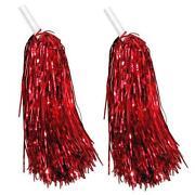 Cheerleader Pompoms Red