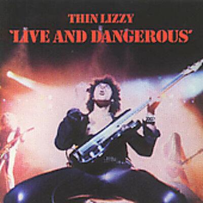 Thin Lizzy   Live   Dangerous  New Cd  Uk   Import