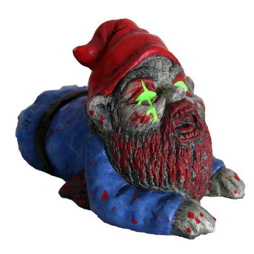 Halloween Zombie Gnome Prop