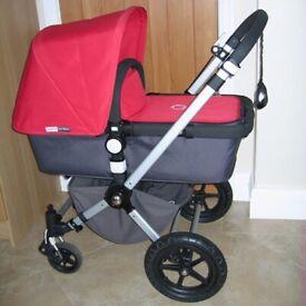Bugaboo Cameleon Pushchair/Stroller & Newborn Travel System. Very Good Condition