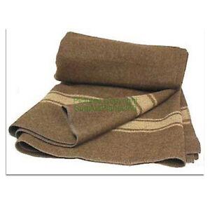100 Wool Blanket Italian Officers Issue New  EBay