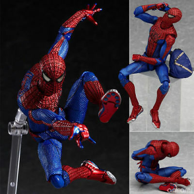 "6"" Marvel Figma No.199 Spiderman PVC The Amazing Spider-man Action Figure Toy"