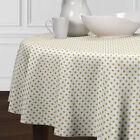 Polka Dot Round Tablecloths