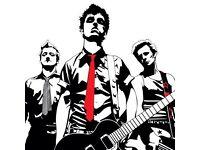 BARGAIN 2 x Green Day Bellahouston Park Glasgow tickets