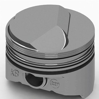KB Performance Pistons KB227.030 Chevy 427 Hollow Dome Pistons, 4.280