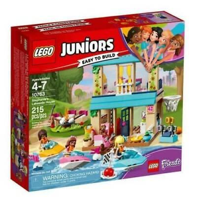 Lego 10763 Juniors Stephanie's Lakeside House New SHIPS FAST